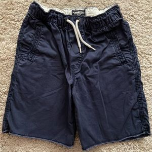 Boys' Soft Cotton Navy Shorts Size 4/5
